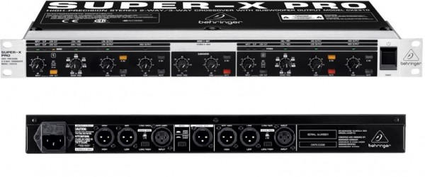 Krosoveris BEHRINGER CX2310 SuperX Pro