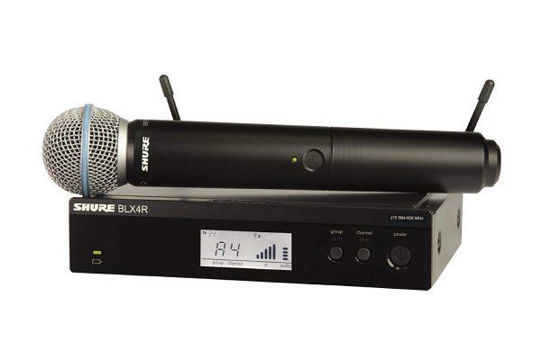 SHURE BLX24R/BETA58 belaidis mikrofonas