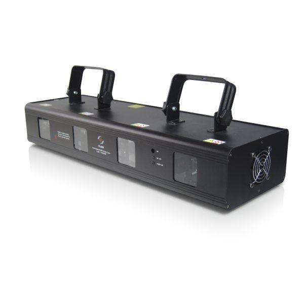 4 spindulių RGBY lazerinis projektorius