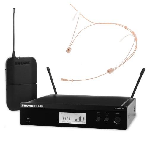 SHURE BLX14R/Headmike bevielė mikrofono sistema