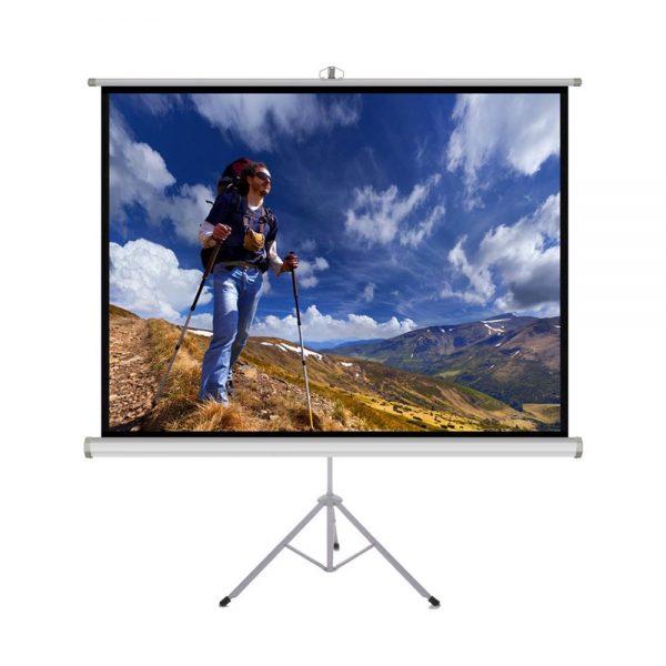 152x152cm projektoriaus ekranas