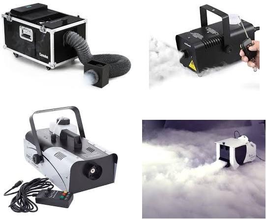 Dūmų mašinų nuoma