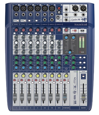 Mikšeris SOUNDCRAFT SIGNATURE 10