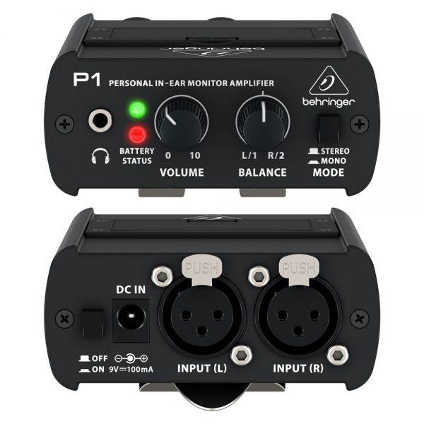 Behringer P1 ausinių stiprintuvas