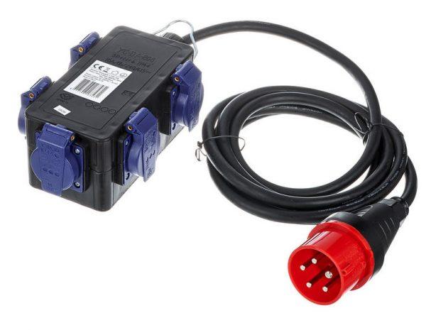 Elektros distribucija 16A 380V į 220V 15m