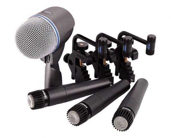 Shure DMK57-52 4 mikrofonų komplektas būgnams