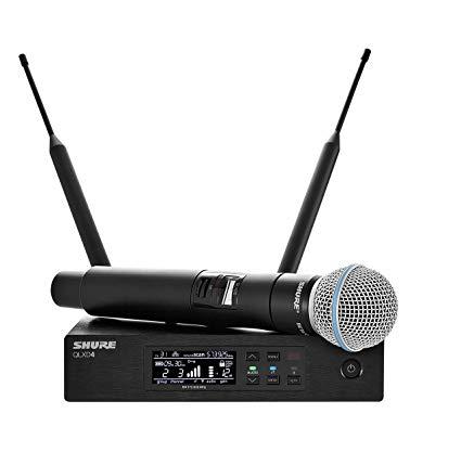 SHURE QLXD / BETA 58A belaidis mikrofonas