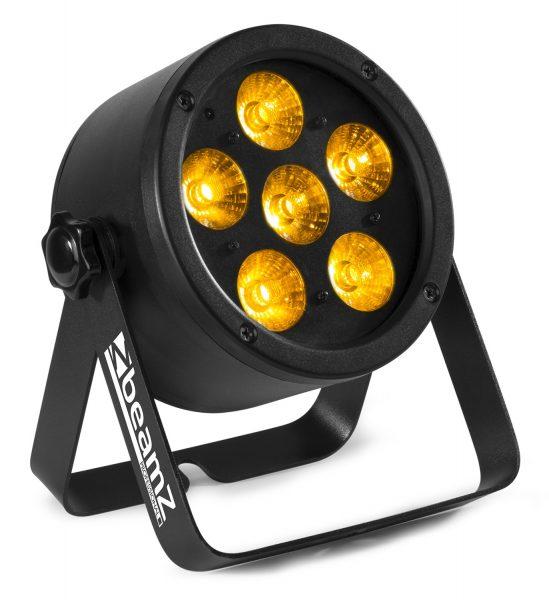 LED PAR BeamZ BAC302 6x12W RGBWA-UV